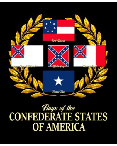 Flags of the Confederate States of America poster