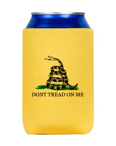 Gadsden Dont Tread On Me premium can cooler