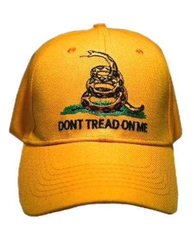 Gadsden Dont Tread on Me embroidered cap