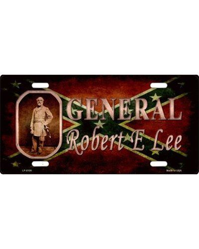 General Robert E. Lee car tag