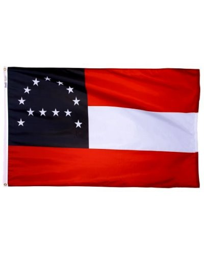 General Lee Headquarters 3'x5' printed polyester flag