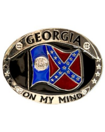 Georgia On My Mind belt buckle