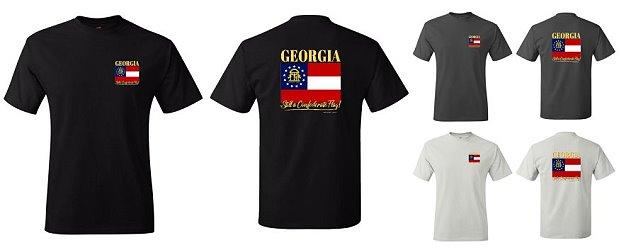 Georgia: Still a Confederate Flag t-shirt