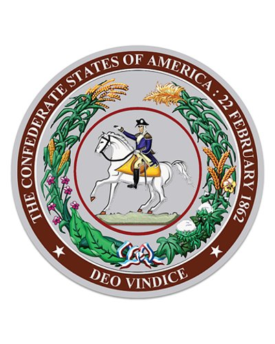 Great Seal of the Confederacy coasters