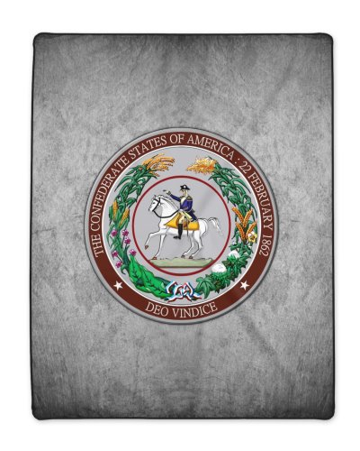 Great Seal of the Confederacy polyester blanket