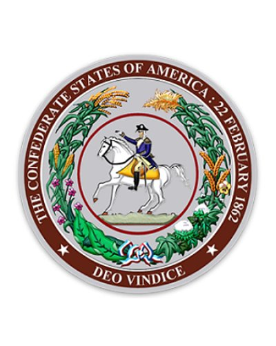 Great Seal of the Confederacy sticker