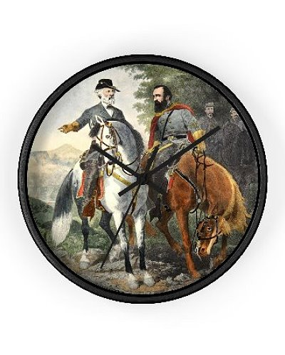 Heroes of Chancellorsville wall clock