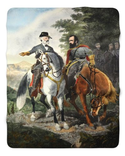 Heroes of Chancellorsville sherpa fleece blanket