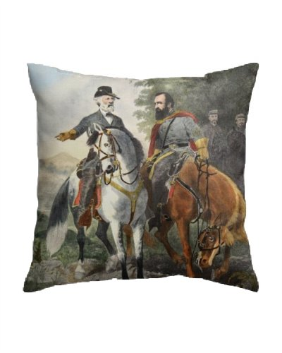 Heroes of Chancellorsville throw pillow
