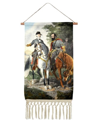 Heroes of Chancellorsville linen wall hanging