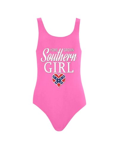 Home Grown Southern Girl one-piece swimsuit