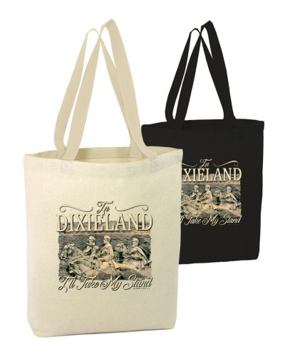 In Dixieland I'll Take My Stand (Stone Mountain) canvas tote bag