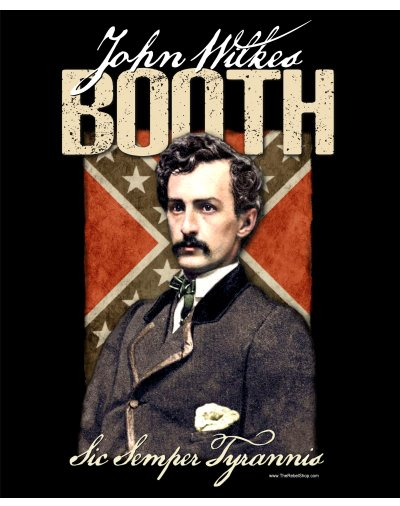 John Wilkes Booth Sic Semper Tyrannis poster