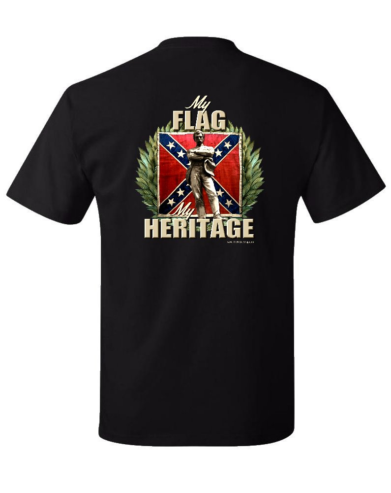 My Flag, My Heritage Statue t-shirt