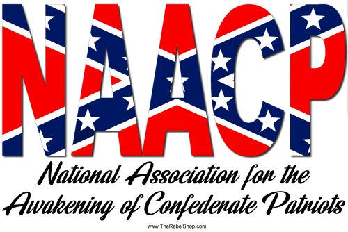NAACP Confederate Flag t-shirt