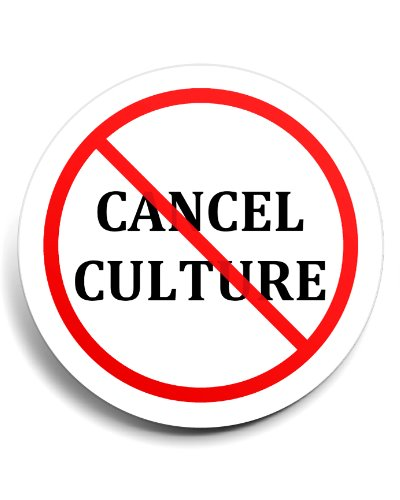 No Cancel Culture refrigerator magnet