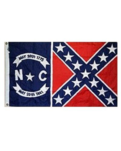North Carolina Confederate Battle 3'x5' printed polyester flag