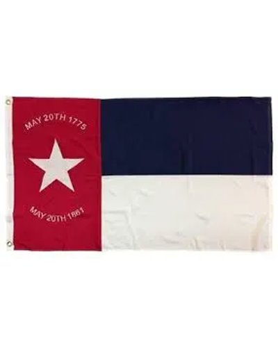 North Carolina Republic printed polyester flag