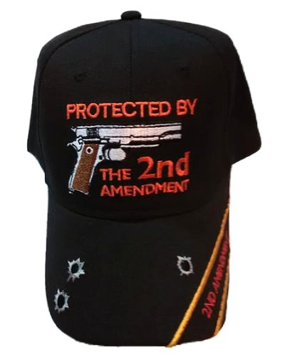 Protected By the Second Amendment embroidered cap