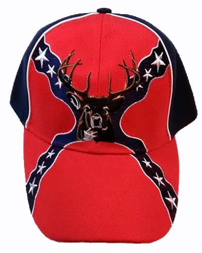 Rebel Buck Deer embroidered cap