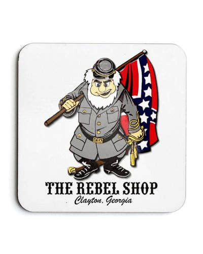 The Rebel Shop promotional coaster set FREE With $100 Purchase