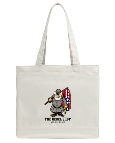 The Rebel Shop promotional tote bag FREE With $100 Purchase