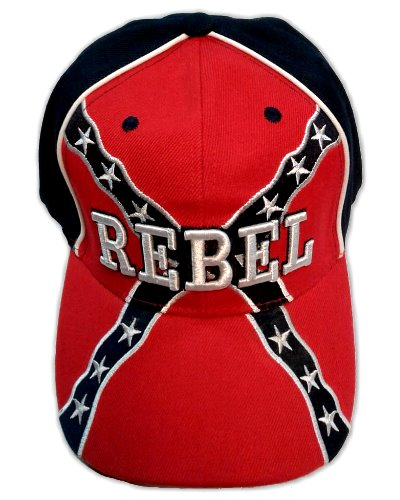 Rebel embroidered cap