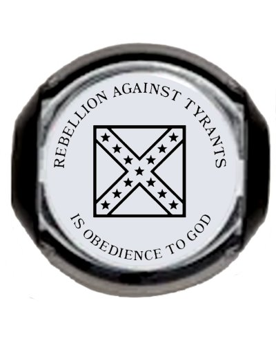 Rebellion Against Tyrants is Obedience to God self-inking stamp