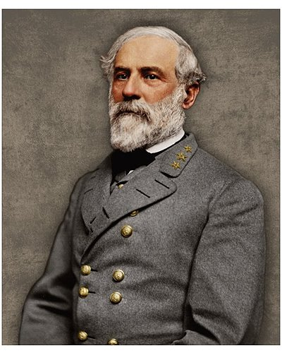 "Robert E. Lee colorized 8""x10"" photo print"