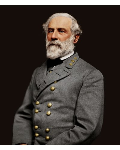 General Robert E. Lee colorized photo print