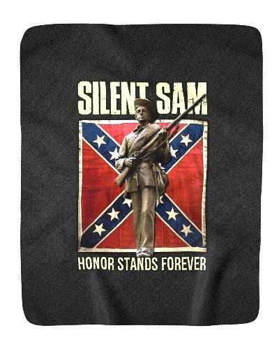 Silent Sam Honor Stands Forever sherpa fleece blanket