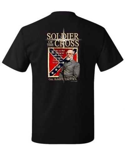 Soldier of the Cross (Robert E. Lee) t-shirt