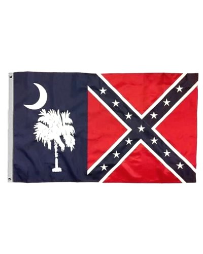 South Carolina Confederate Battle 3'x5' printed polyester flag