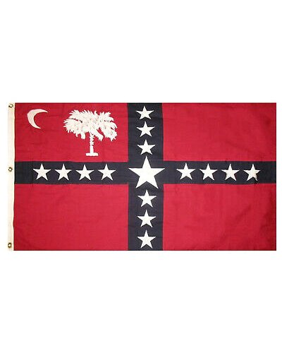 South Carolina Sovereignty printed polyester flag