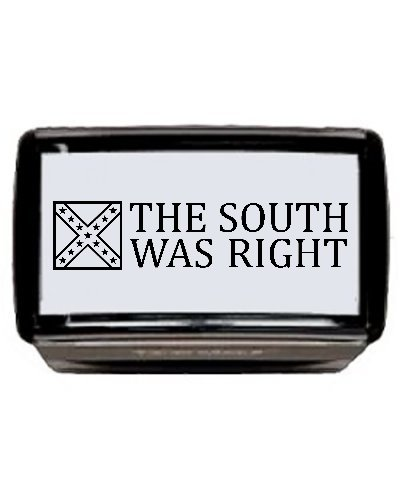 The South Was Right self-inking stamp