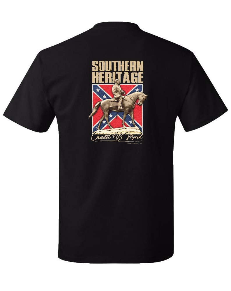 Southern Heritage Cannot Be Moved t-shirt