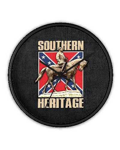 Southern Heritage wall clock
