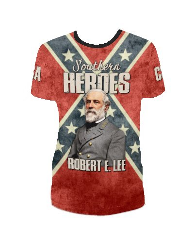 Southern Heroes Robert E. Lee all over t-shirt