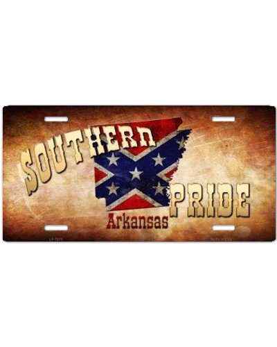 Southern Pride Arkansas car tag