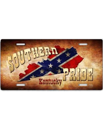 Southern Pride Kentucky car tag