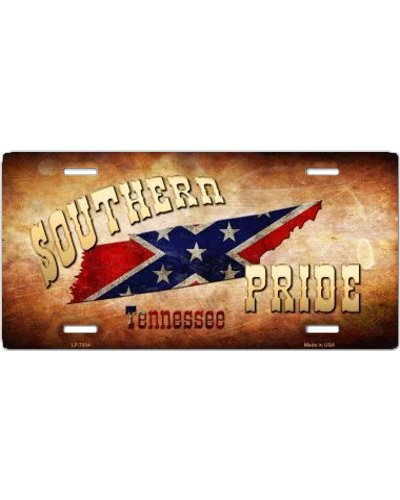 Southern Pride Tennessee car tag