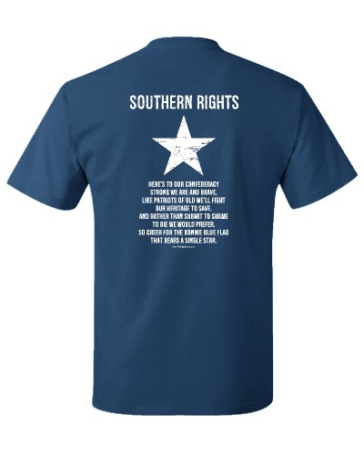 Southern Rights (Bonnie Blue flag) t-shirt