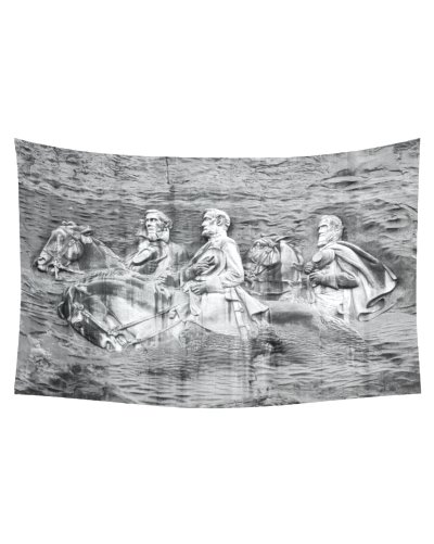 Stone Mountain cotton linen wall tapestry
