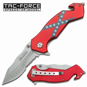 Tac-Force Southern Pride rescue folding knife