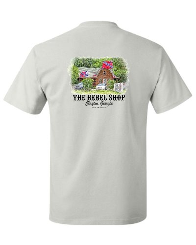 The Rebel Shop promotional t-shirt FREE With $125 Purchase