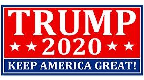 Keep America Great Trump Bumper Sticker 2020