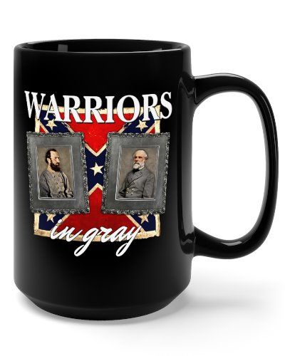 Warriors in Gray coffee mug