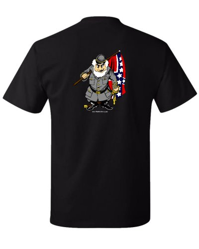 cartoon Confederate Soldier t-shirt