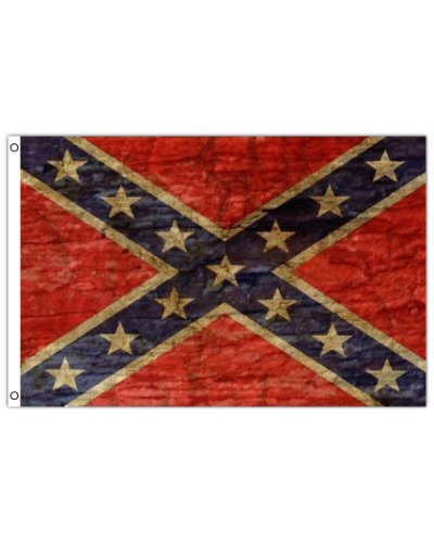 distressed Confederate Army of Tennessee printed polyester flag