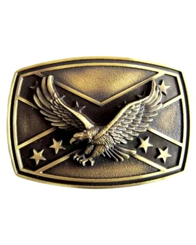 vintage Confederate Eagle belt buckle